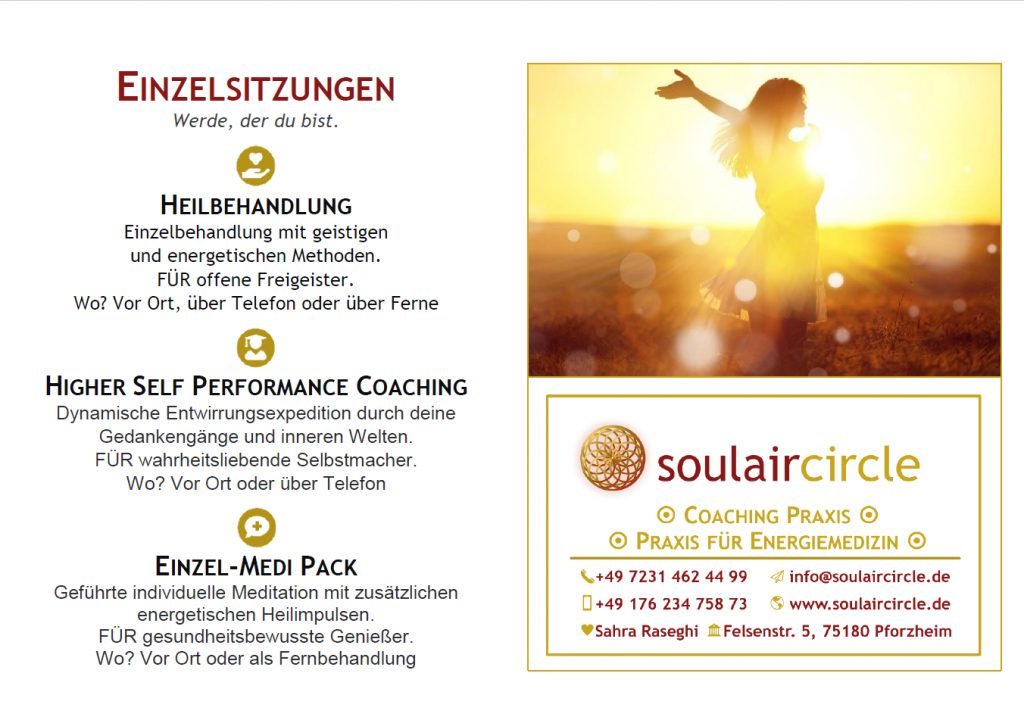 BGM Stuttgart - Portfolio Flyer - soulaircircle Coaching Praxis - 1